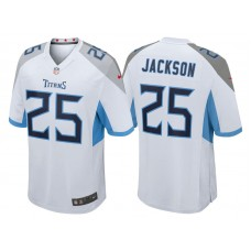 Tennessee Titans #25 Adoree' Jackson White 2018 Game Jersey