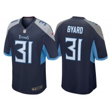 Tennessee Titans #31 Kevin Byard Navy 2018 Game Jersey