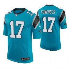 Carolina Panthers #17 Devin Funchess Blue Elite Jersey