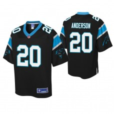 Youth Carolina Panthers #20 C. J. Anderson Black Player Pro Line Jersey