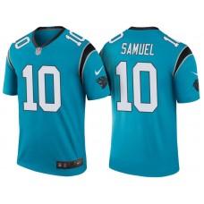 Carolina Panthers #10 Curtis Samuel Blue Color Rush Legend Jersey
