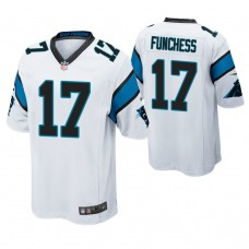 Carolina Panthers #17 Devin Funchess White Game Jersey