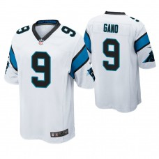 Carolina Panthers #9 Graham Gano White Game Jersey
