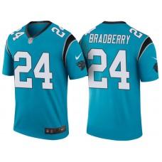 Carolina Panthers #24 James Bradberry Blue Color Rush Legend Jersey