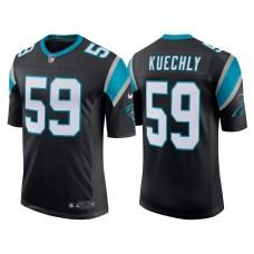 Carolina Panthers #59 Luke Kuechly Black Classic Limited Player Jersey