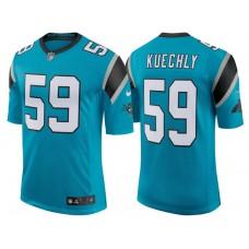 Carolina Panthers #59 Luke Kuechly Blue Classic Limited Player Jersey