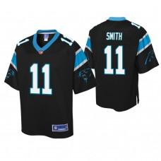 Youth Carolina Panthers #11 Torrey Smith Black Player Pro Line Jersey