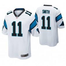 Carolina Panthers #11 Torrey Smith White Game Jersey