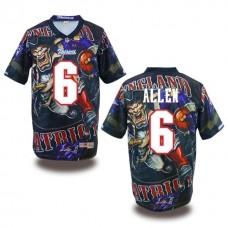 New England Patriots #6 Ryan Allen Fanatical Fashion Jersey
