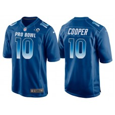 2018 Pro Bowl NFC Los Angeles Rams #10 Pharoh Cooper Royal Game Jersey