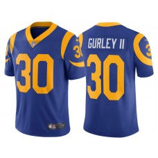 1e94fed9a 2017 Los Angeles Rams  30 Todd Gurley Royal Vapor Untouchable Limited Jersey