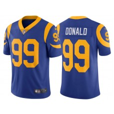 2017 Los Angeles Rams #99 Aaron Donald Royal Vapor Untouchable Limited Jersey