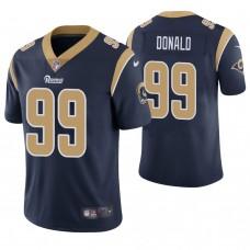 Los Angeles Rams #99 Aaron Donald Navy Game Jersey