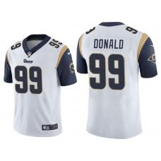 Los Angeles Rams #99 Aaron Donald White Vapor Untouchable Limited Jersey