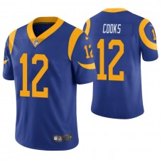 Los Angeles Rams #12 Brandin Cooks Royal Player Vapor Untouchable Limited Jersey