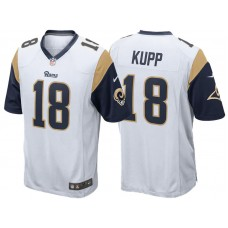 Youth Los Angeles Rams #18 Cooper Kupp White Game Jersey
