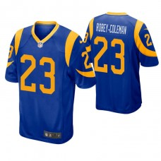 Youth Los Angeles Rams #23 Nickell Robey-Coleman Royal Game Jersey
