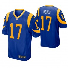 Youth Los Angeles Rams #17 Robert Woods Royal Game Jersey
