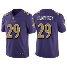 Baltimore Ravens #29 Marlon Humphrey Purple Vapor Untouchable Color Rush Limited Jersey