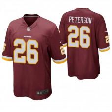 Washington Redskins #26 Adrian Peterson Burgundy Game Jersey