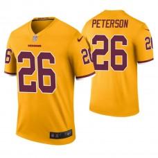 Washington Redskins #26 Adrian Peterson Gold Color Rush Legend Jersey