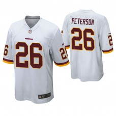 Washington Redskins #26 Adrian Peterson White Game Jersey