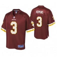 Youth Washington Redskins #3 Dustin Hopkins Burgundy Player Pro Line Jersey