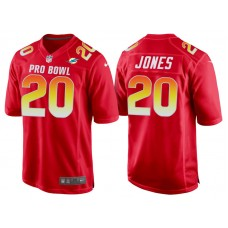 2018 Pro Bowl AFC Miami Dolphins #20 Reshad Jones Red Game Jersey