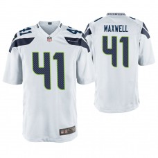 Seattle Seahawks #41 Byron Maxwell White Game Jersey