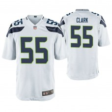 Seattle Seahawks #55 Frank Clark White Game Jersey