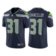 Seattle Seahawks #31 Kam Chancellor College Navy Vapor Untouchable Limited Jersey