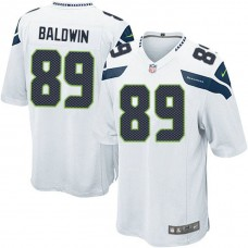 Seattle Seahawks #34 Doug Baldwin White Elite Jersey