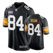Pittsburgh Steelers #84 Antonio Brown 1978 Throwback Super Bowl XIII Black Jersey
