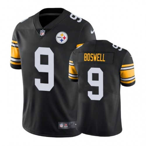 100% authentic 33a0d e17fc Pittsburgh Steelers #9 Chris Boswell Vapor Untouchable ...
