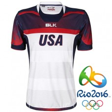 USA Rugby 2016 Olympic 7s White Home Special Honors Jersey