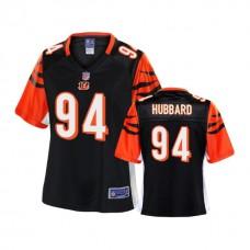 Women's Cincinnati Bengals #94 Sam Hubbard Black 2018 Draft Player Jersey