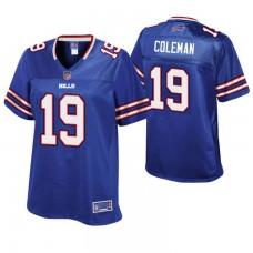 Women's Buffalo Bills #19 Corey Coleman Royal Pro Line Player Jersey