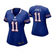 Women's Buffalo Bills #11 Zay Jones Royal Game Jersey