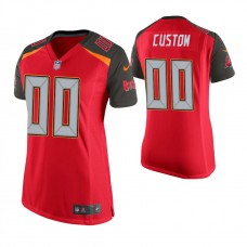 Women's Tampa Bay Buccaneers Red Game Customized Jersey