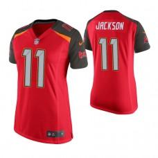 Women's Tampa Bay Buccaneers #11 DeSean Jackson Red Game Jersey
