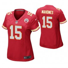 Women's Kansas City Chiefs #15 Patrick Mahomes II Red Game Jersey