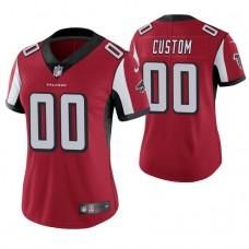 Women's Atlanta Falcons Red Game Customized Jersey