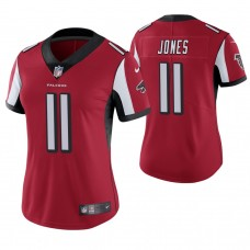 Women's Atlanta Falcons #11 Julio Jones Red Game Jersey