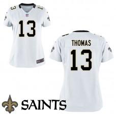 Women's New Orleans Saints #13 Michael Thomas White Game Jersey