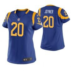 Women's Los Angeles Rams #20 Lamarcus Joyner Royal Game Jersey
