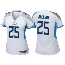 Women's Tennessee Titans #25 Adoree' Jackson White 2018 Game Jersey