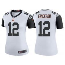 Women's Cincinnati Bengals #12 Alex Erickson White Color Rush Legend Jersey