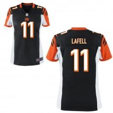 Women's Cincinnati Bengals #11 Brandon Lafell Black Game Jersey