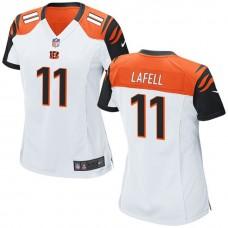 Women's Cincinnati Bengals #11 Brandon Lafell White Game Jersey