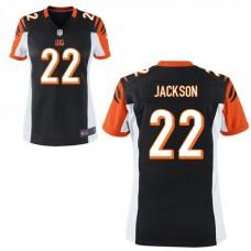 Women's Cincinnati Bengals #22 William Jackson III Black Game Jersey